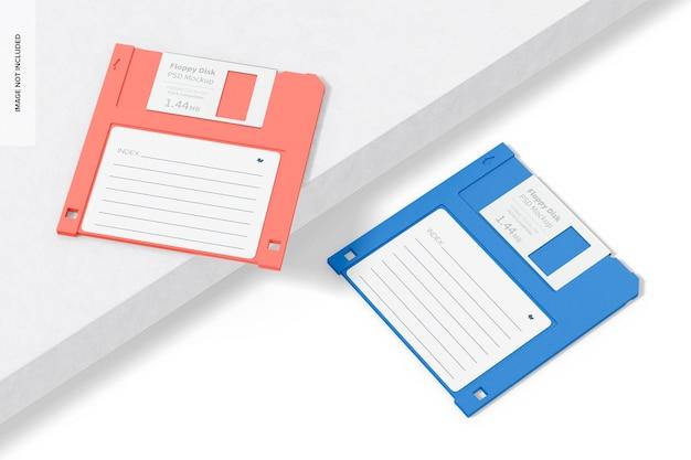 Mockup voor diskettes