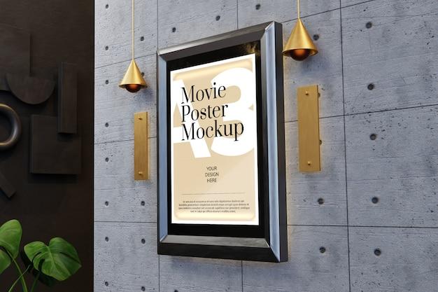 Mockup voor filmposter