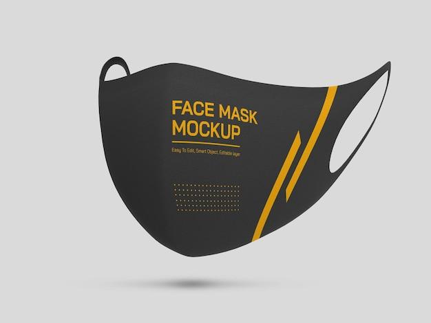 Mockup voor gezichtsmasker