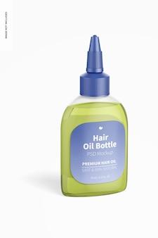 Mockup voor haaroliefles