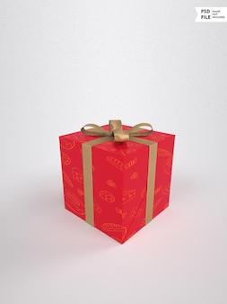 Mockup voor huwelijksgeschenkdoos