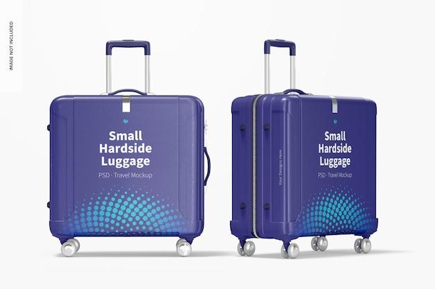 Mockup voor kleine koffers