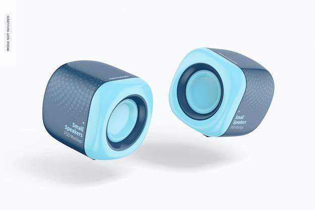 Mockup voor kleine luidsprekers