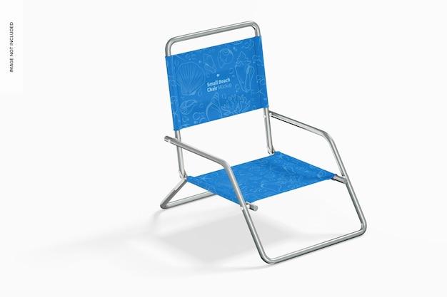 Mockup voor kleine strandstoelen