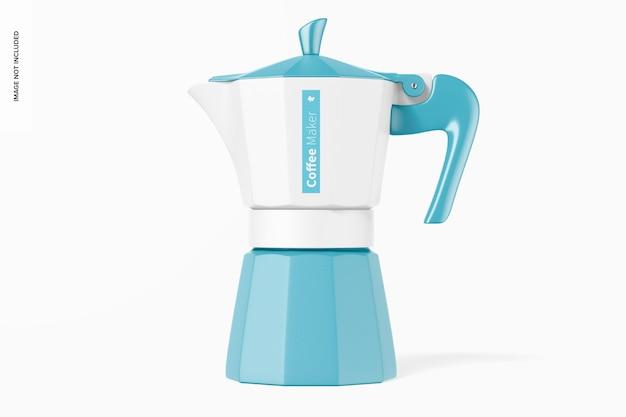 Mockup voor koffiezetapparaat