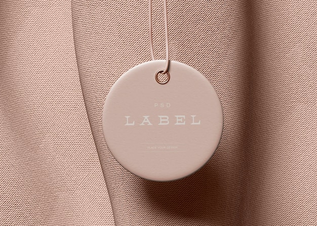 Mockup voor labellabels