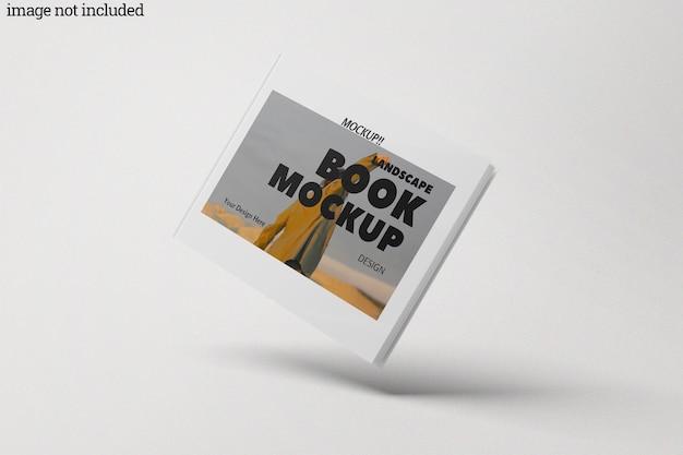 Mockup voor landschapsboeken