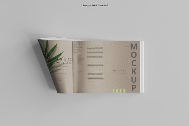 Mockup voor landschapstijdschriften