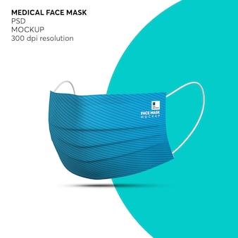 Mockup voor medische gezichtsmaskerbescherming