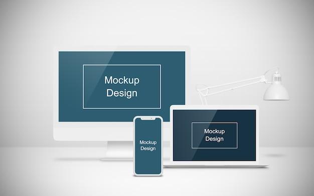 Mockup voor meerdere apparaten