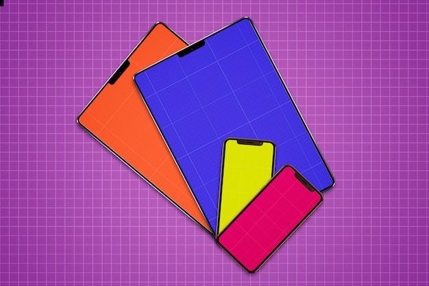 Mockup voor mobiel en tablet
