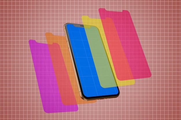 Mockup voor mobiele schermen