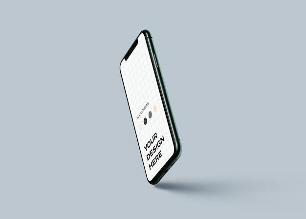 Mockup voor nieuwe mobiele telefoons
