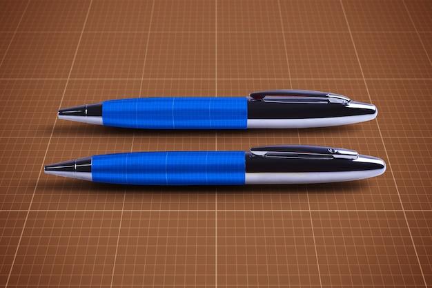 Mockup voor pennen