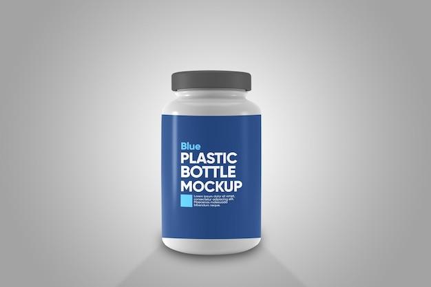 Mockup voor plastic flessen