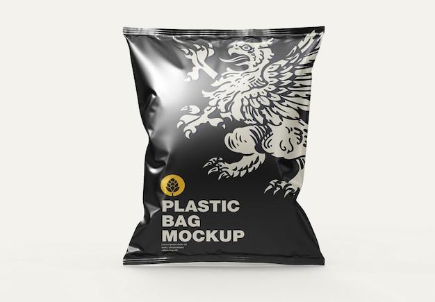 Mockup voor plastic zakken