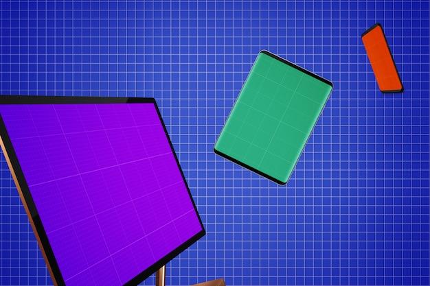 Mockup voor responsieve schermen