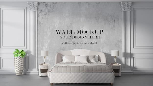 Mockup voor slaapkamer in art-decostijl