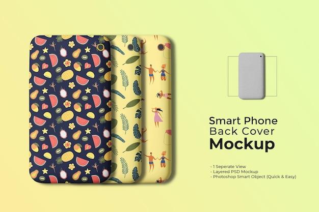 Mockup voor smartphonehoes