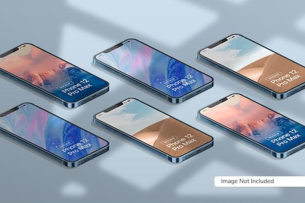 Mockup voor smartphones
