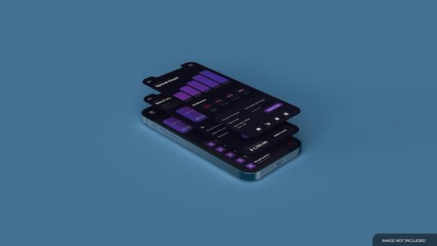 Mockup voor smartphonescherm
