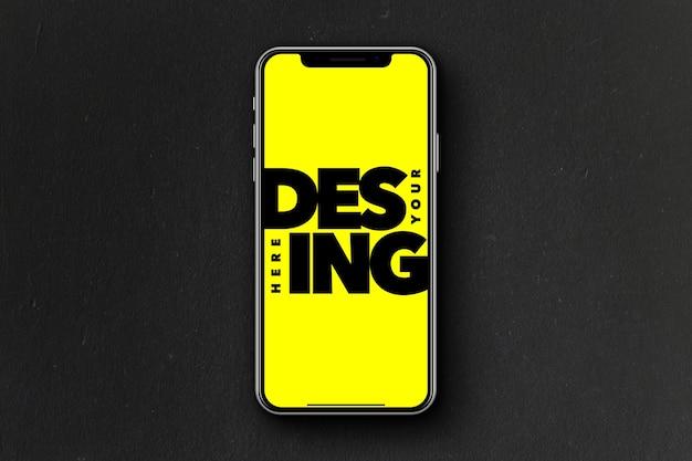 Mockup voor smartphoneschermen