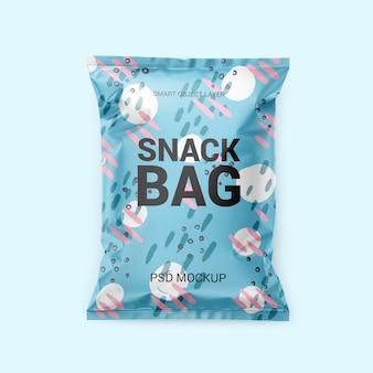 Mockup voor snackverpakkingen