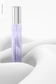 Mockup voor sprayparfumfles van 10 ml
