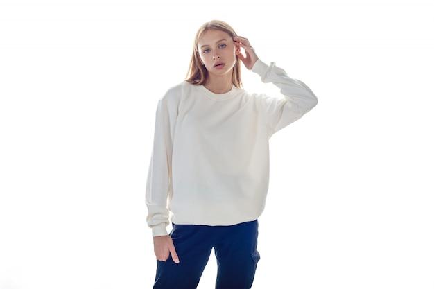 Mockup voor sweatshirt