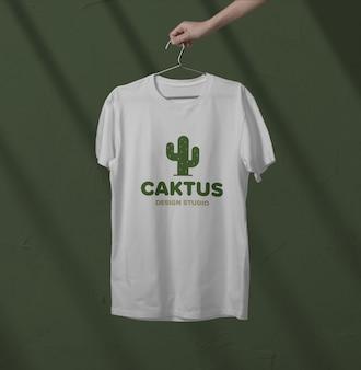 Mockup voor t-shirt