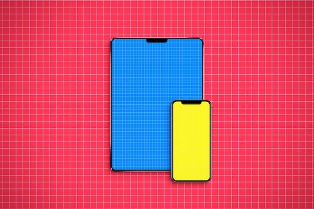 Mockup voor tablet en mobiel