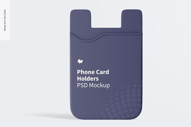 Mockup voor telefoonkaarthouder