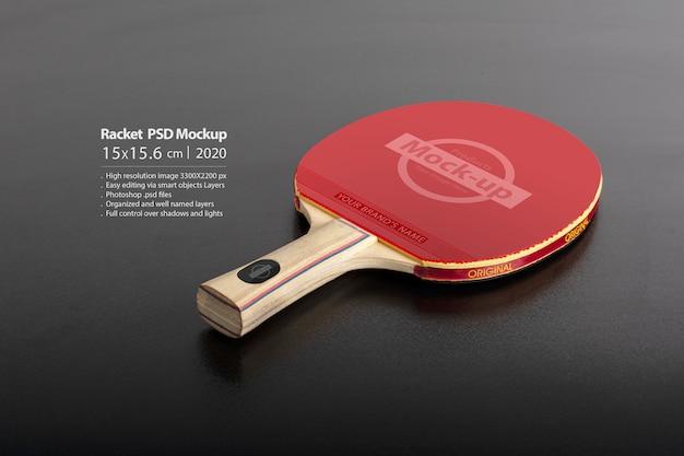 Mockup voor tennisracket Premium Psd