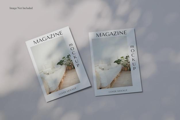 Mockup voor tijdschriftomslag op a4