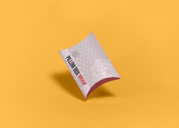 Mockup voor verpakking van kussensloop