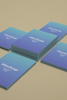 Mockup voor visitekaartjes