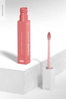 Mockup voor vloeibare lippenstiftbuis