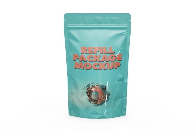 Mockup voor voedselverpakking