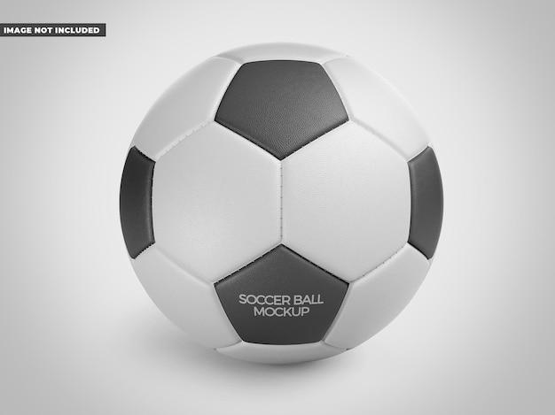 Mockup voor voetbal