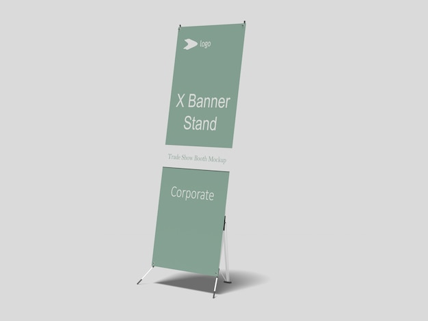 Mockup x-banner