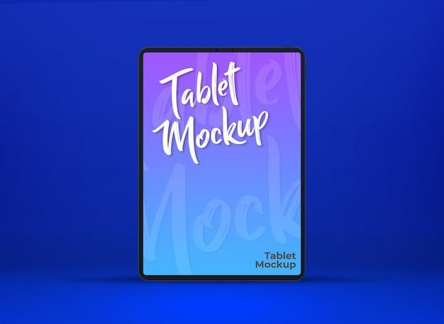 Mockups voor tabletscherm van digitaal apparaat