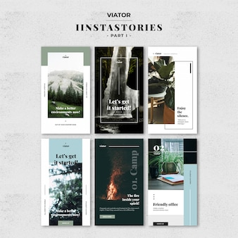 Moda instagram stories template