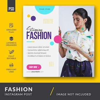 Mode instagram-bericht