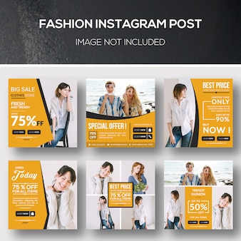 Mode instagram post