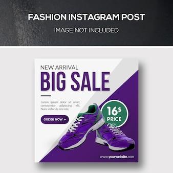 Mode instagram post
