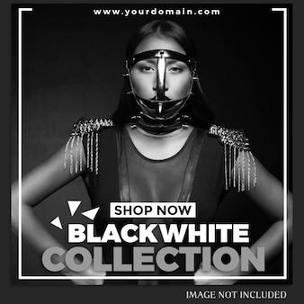 Mode instagram postsjabloon