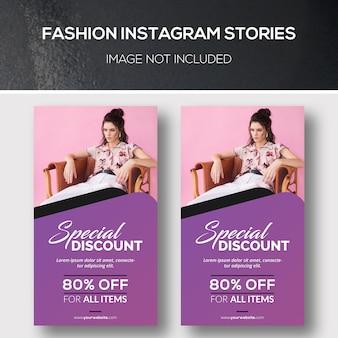 Mode instagram-verhalen