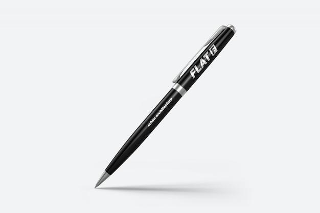 Model met drijvende pen