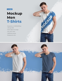 Model t-shirts voor heren