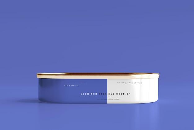 Model van aluminium visblik